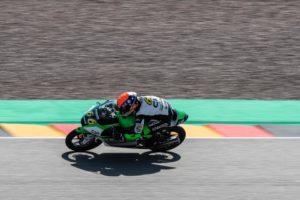 Joel Kelso Racing on track